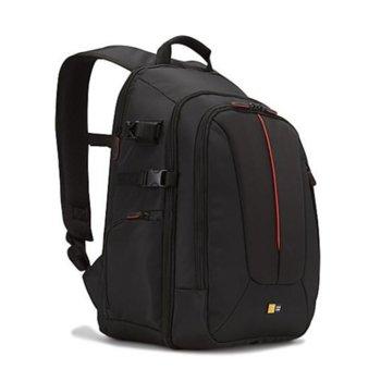 """Раница за фотоапарат Case Logic DCB-309, черна, за устройства до 15"""", дъждобран image"""