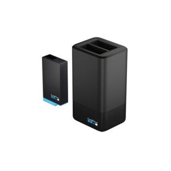 Зарядно устройство GoPro MAX Dual Battery Charger в комплект с батерия 1600mAh, съвместимо с батерии за камерa GoPro Max image
