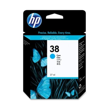 ГЛАВА HEWLETT PACKARD Photosmart Pro B9180/B8850 Professional Photo Printer - Cyan Pigment Ink - P№ C9415A - заб.: 27ml. image