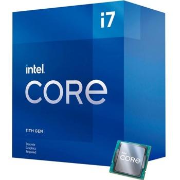 Процесор Intel Core i7-11700F, осемядрен (2.5/4.9 GHz, 16MB, LGA1200) Box, с охлаждане image