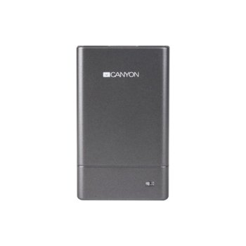 Четец за карти Canyon Combo Multicard Reader, USB 2.0, MS (PRO) (PRO Duo) (Duo) (Pro Duo Magic Grate)/MMC/SD/Mini SD/MMC (4.0)/RS MM 4.0/T-Flash/SDHC/RS-MMC, сив image