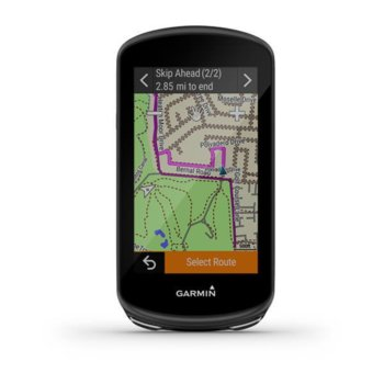 "Навигация за велосипеди Garmin Edge® 1030 Plus, 3.5"" (8.89 cm) дисплей, GPS, Wi-Fi, Bluetooth, 32GB вградена памет, до 24 часа време за работа, microSD слот, IPX7 водоустойчивост, основна карта image"