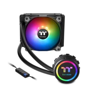 Водно охлаждане Thermaltake Water 3.0 120 ARGB sync Premium Edition, съвместимос със LGA 1366/1156/1155/1150/1151/2011/2011-V3 & AMD AM3+/AM3/AM2+/AM2/FM2/FM1 image