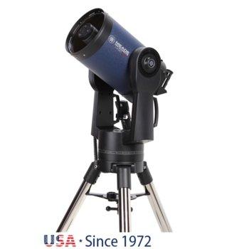 Телескоп Meade LX90 8 F/10 ACF, 8x50 mm с решетка с кръстче оптично увеличение, 203mm диаметър на лещата, 2000mm фокусно разстояние image