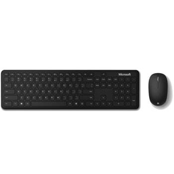 Комплект клавиатура и мишка Microsoft Bluetooth Desktop for Business Black, безжични, Bluetooth, черни image