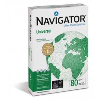 Хартия Navigator Universal, A4, 80 g/m2, 500 листа, бяла image