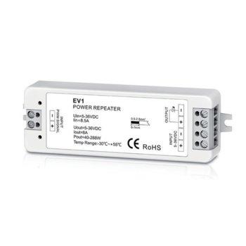 LED усилвател Elmark EM99REPEATER1, 30m обхват, 1 зонa image