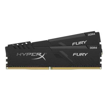 Памет 32GB (2x 16GB) DDR4, 3000Mhz, Kingston HyperX Fury, HX430C15FB3K2/32, 1.35 V image