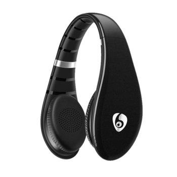 Слушалки Ovleng S66, безжични, микрофон, SD, FM, Различни цветове image