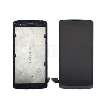 Дисплей за LG Leon H320, LCD, с тъч, черен image