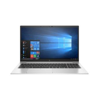 "Лаптоп HP EliteBook 850 G7 (177F2EA)(сребрист), шестядрен Comet Lake Intel Core i7-10710U 1.1/4.7 GHz, 15.6"" (39.62 cm) 4K UHD IPS Anti-Glare Display & GF MX250 2GB, (HDMI), 32GB DDR4, 1TB SSD, 2x USB 3.1 Type-C, Windows 10 Pro image"