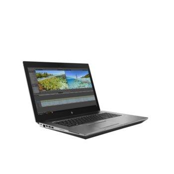"Лаптоп HP ZBоок 17 G6 (8JL98EA)(сив), осемядрен Coffee Lake Intel Core i9-9880H 2.3/4.8 GHz, 17.3"" (43.94 cm) UHD/4K Anti-Glare Display & Quadro RTX 3000 6GB, (mDP), 32GB DDR4, 1TB SSD, 2x USB Type-C, Windows 10 Pro image"