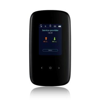 Рутер ZyXEL LTE2566-M634, LTE(3G/4G), преносим, 300Mbps, 2.4GHz/ 5GHz, Wireless AC, 3FF/Micro SIM, USB, Cat. 6 image