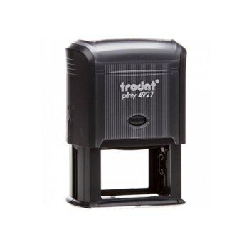 Автоматичен печат Trodat 4927 черен, 60/40 mm, правоъгълен image