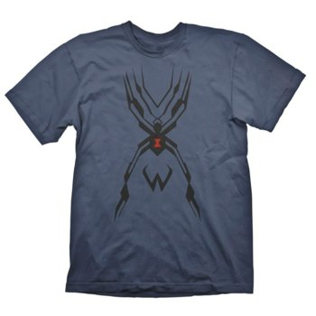 Тениска Gaya Entertainment Overwatch Widowmaker Tattoo, Размер S, синя image