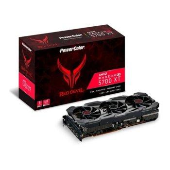 Видео карта AMD Radeon RX 5700 XT, 8GB, PowerColor Red Devil, PCI-E 4.0, GDDR6, 256bit, DisplayPort, HDMI image