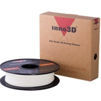 Консуматив за 3D принтер Inno3D, ABS White, 1.75mm, бял, 500g, пакет от 5 броя image