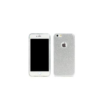 Страничен протектор с гръб Remax, TPU материал, за Apple iPhone 6 Plus и iPhone 6S Plus, сребрист image