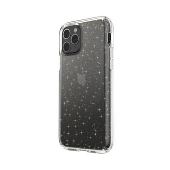 Калъф за Apple iPhone 11 Pro, поликарбонатов, Speck Presidio Clear 129893-5636, прозрачен с брокат image
