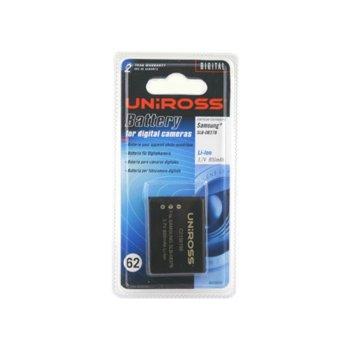 Батерия Cameron Sino за апарат Samsung SLB-0837B, NV8, NV10, NV12, NV15, NV20, L70, L201, L83T, LiIon 3.7V, 800mAh image