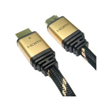 Кабел Roline, HDMI(м) към HDMI(м), 2m, черен, позлатени конектори image