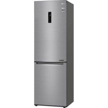 Хладилник с фризер LG GBB61PZHMN, клас E, 341L общ обем, свободностоящ, 254 kWh/годишно разход на енергия, дистанционно настройване на вашия хладилник image