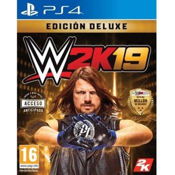 Игра за конзола WWE 2K19 Deluxe Edition, за PS4 image