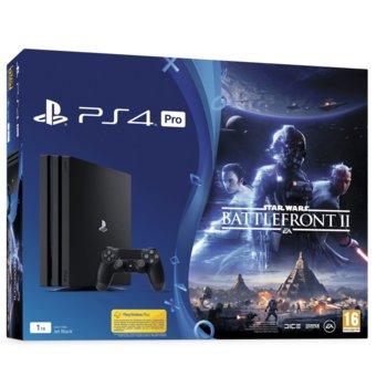 Somy PS4 Pro 1TB + Star Wars Battlefront II product