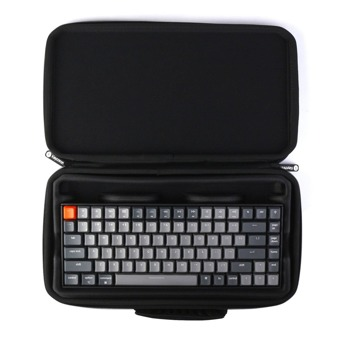 Kалъф за клавиатура Keychon K2 Plastic (K2-SLB), удароустойчив, пластмасов, черен image