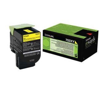Касета за Lexmark CS510de / CS510dte - Yellow - P№ 70C2XY0 - заб.: 4 000k image