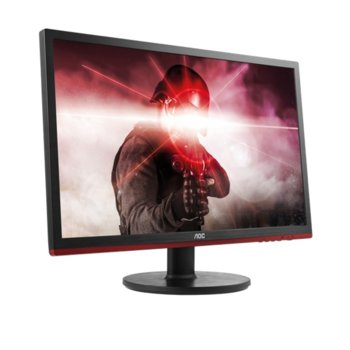 """Монитор AOC G2260VWQ6, 21.5"""" (54.61 cm) TN панел, 1ms, Full HD, 20 000 000:1, 250cd/m2, DisplayPort, HDMI,, VGA image"""
