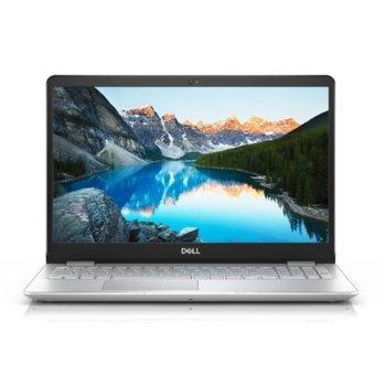 "Лаптоп Dell Inspiron 5584 (5397184273623)(сребрист), четириядрен Whiskey Lake Intel Core i5-8265U 1.6/3.9 GHz, 15.6"" (39.62 cm) Full HD Anti-Glare Display & GF MX130 2GB, (HDMI), 8GB DDR4, 1TB HDD, 1x USB 3.1 Type C, Linux, 2.05 kg image"