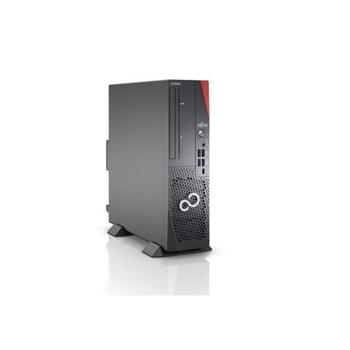 Настолен компютър Fujitsu ESPRIMO D7010, четириядрен Comet Lake Intel Core i3-10100 3.6/4.3 GHz, 8GB DDR4, 256GB SSD, 2x USB 3.2, No OS image