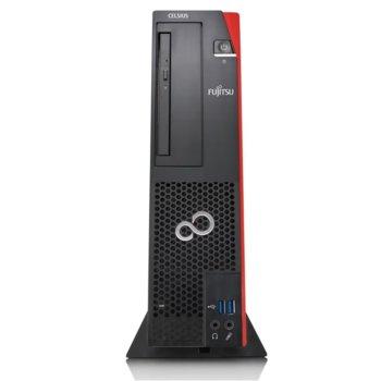 Настолен компютър Fujitsu Celsius J580, четириядрен Coffee Lake Intel Xeon E-2134 3.50/4.50 GHz, 8GB DRR4, 1TB HDD, 2x USB 3.1, FreeDOS image