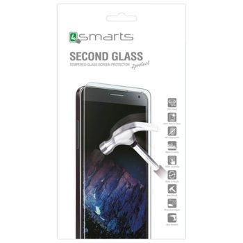 Протектор от закалено стъкло /Tempered Glass/ 4smarts Second Glass, за Asus Zenfone 4 Max ZC554KL image