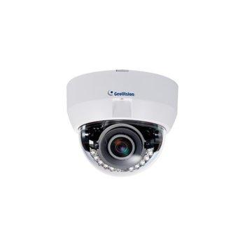 IP камера Geovision GV-EFD31013MP, куполна, 3.0 Mpix (2048x1536), 3-9mm обектив, IR осветеност (до 50 метра), външна, PoE image