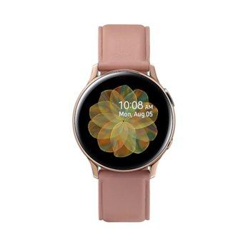 Смарт часовник Samsung Galaxy Watch Active2 SM-R830N (SM-R830NSDABGL), до 95 часа време за работа, неръждаема стомана, златист image