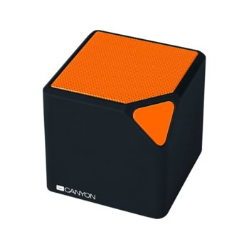 Тонколона Canyon CNE-CBTSP2BO, 2.0, Bluetooth 4.2, до 3 часа време за работа, микрофон, USB, оранжева image