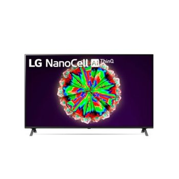 "Телевизор LG 55NANO803NA, 55"" (139.70 cm) 4K/UHD Smart TV, HDR, DVB-T2/C/S2, Wi-Fi, LAN, Bluetooth, 4x HDMI, 2x USB, енергиен клас G image"