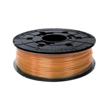 Консуматив за 3D принтер XYZprinting RFPLBXEU07E, PLA, 1.75 mm, оранжев, 600 g image