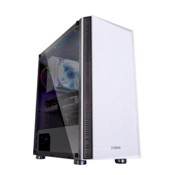 Кутия Zalman R2, EATX/ATX/Micro ATX/Mini-ITX, 1x USB 3.0, бяла, без захранване image