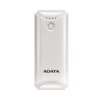 Външна батерия/power bank/ Adata P5000, 5000mAh, бяла image