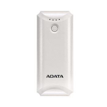 Външна батерия/power bank/ Adata P5000, 5000mAh, бяла image