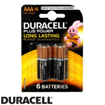 Duracell LR03/MN2400, AAA, 6 броя product