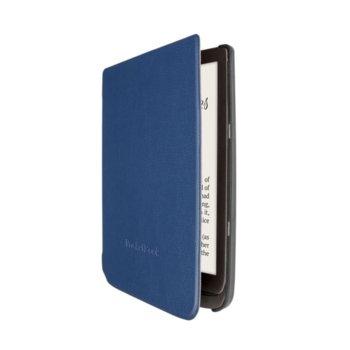 Калъф за електронна книга, Pocketbook Cover Shell, за PocketBook InkPad 740, полиуретан, син image