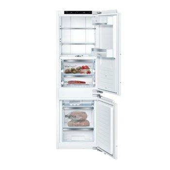 "Хладилник с фризер Bosch KIF86PF30 SER8, клас A++, 223л. общ обем, свободностоящ, 232 kWh/годишно, NoFrost, режим ""Ваканция"", бял  image"
