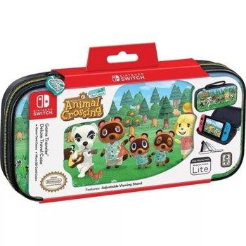 """Калъф Big Ben Interactive Deluxe Travel Case """"Animal Crossing"""", за Nintendo Switch image"""