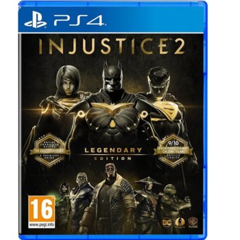 Injustice 2 Legendary Edition PS4 product