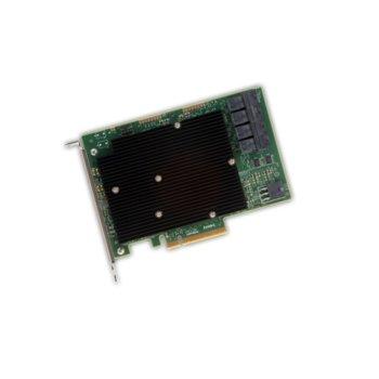 Контролер Broadcom SAS 9300-16I, от PCI-Express 3.0 x8(м) към 4x MiniSAS HD SFF8643, SATA/SAS 6Gb/12Gb/s, Fusion MPT 2.5 image