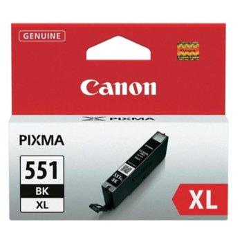 Касета за Canon PIXMA iP7250/MG5450/MG6350 - CLI-551BK-XL - Black - заб: 4 400k image
